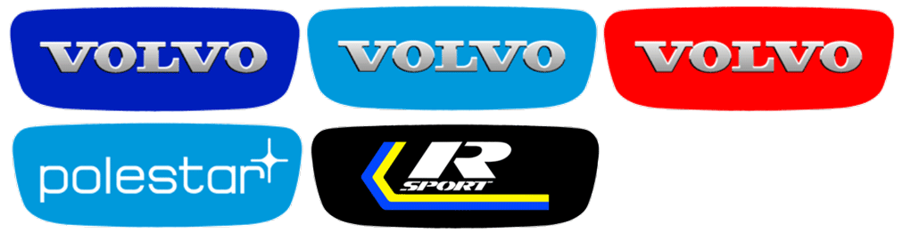 XC70 y S80 V70 XC60 S60 V60 Volante con emblema original de Volvo con logo Airbag V40